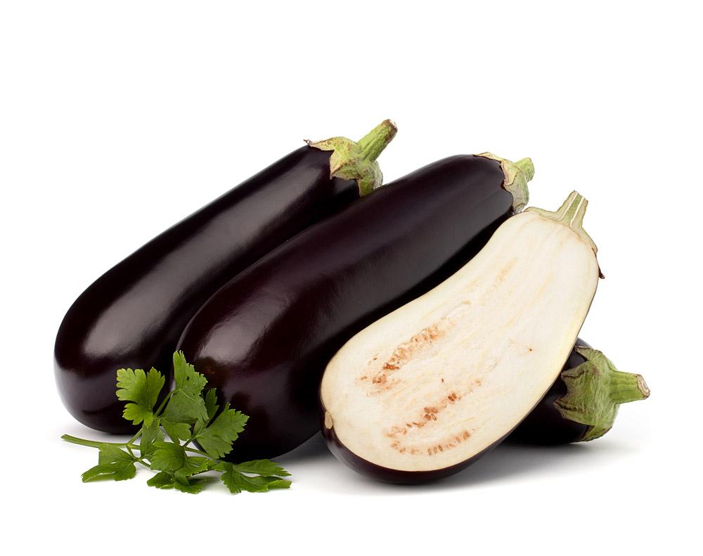 aubergine abnehmen